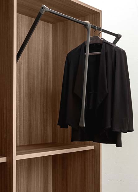 Walk In Closets Can Be Both Convenient And Beautiful. Presotto Offers Many  Convenient Solutions Such As Hide Away Shoe Racks And Clothes Hangers That  Allow ...