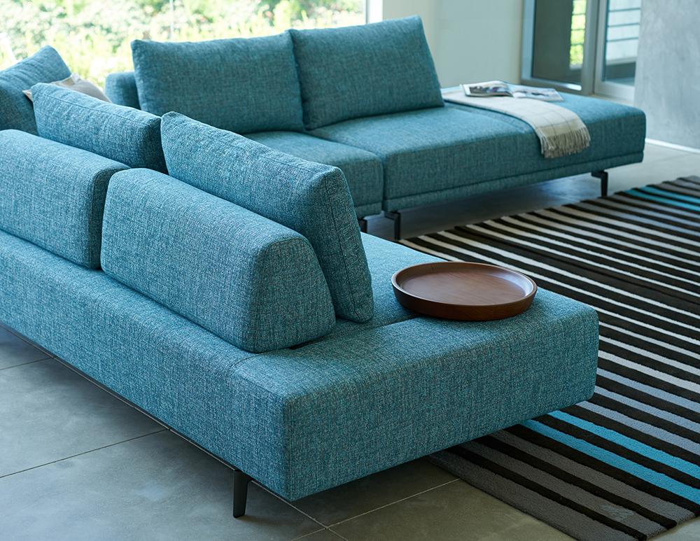 DellaRobbia Felix modern sectional sofa