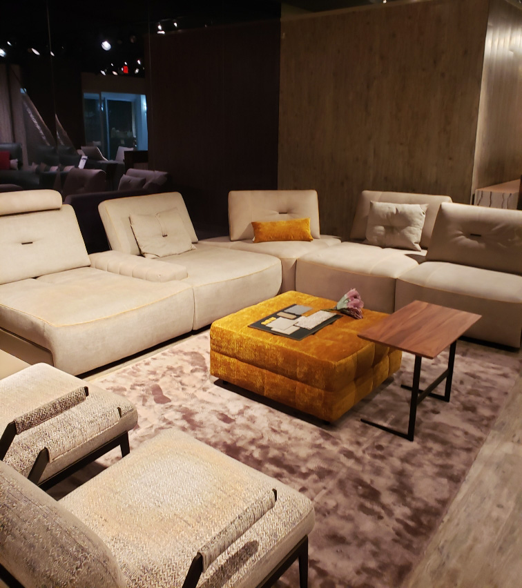 The Manzoni Sectional by Nicoline